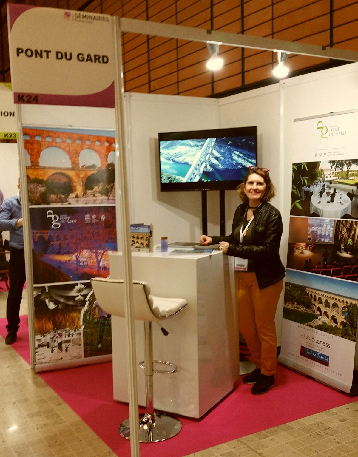 Le Pont du Gard part en salon!